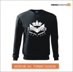 Fight Hard Bluza z nadrukiem