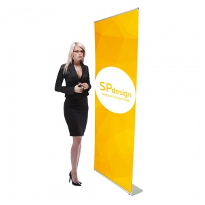 ROLL-UP Orient + 85 x 210 cm - wysoki